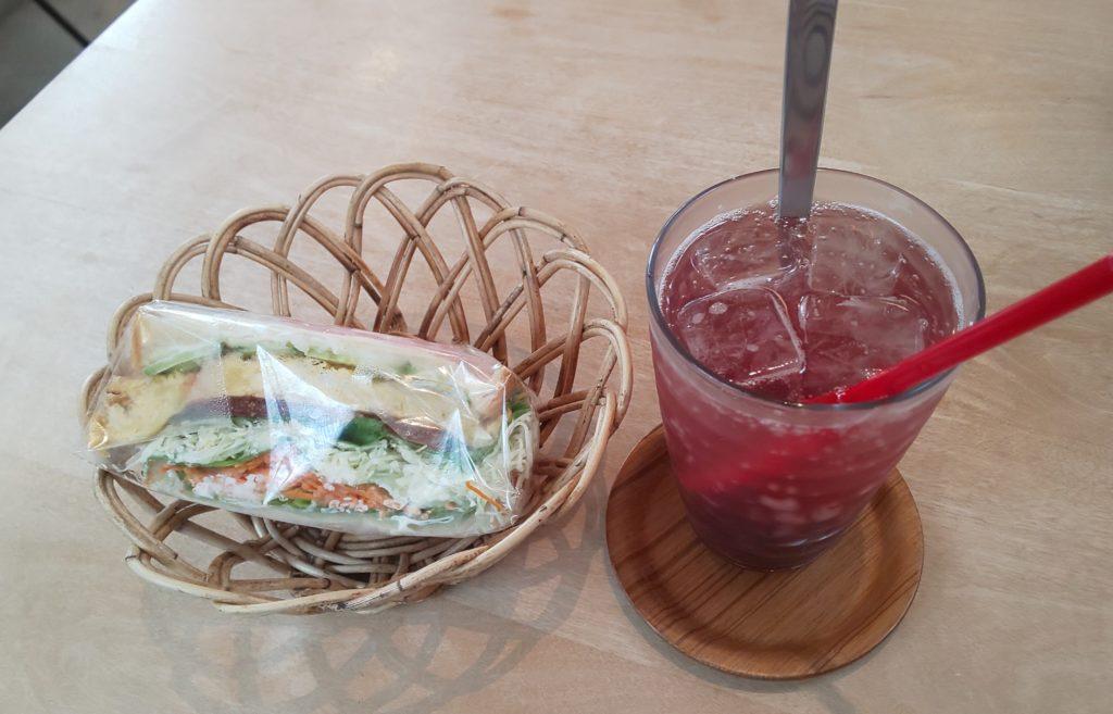 奈良市にあるミアズ ブレッドのサンドウィッチ