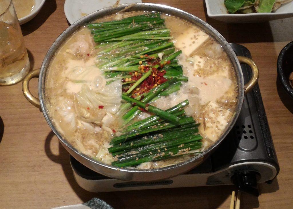 福岡のご当地グルメであるおおやまのもつ鍋