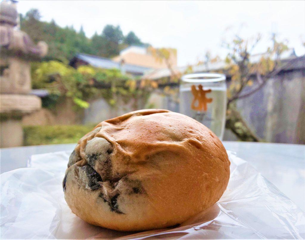 有馬温泉にあるパンド坊の丹波黒豆パン