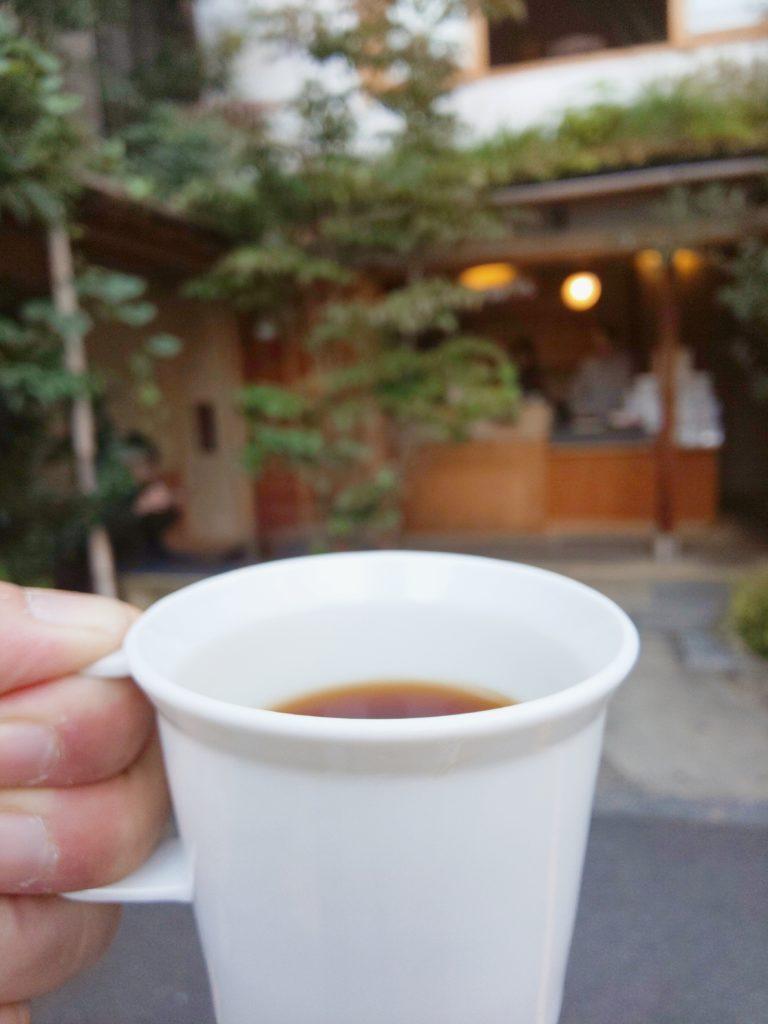 京都市にあるウイークエンダーズコーヒー 富小路の浅煎りコーヒー