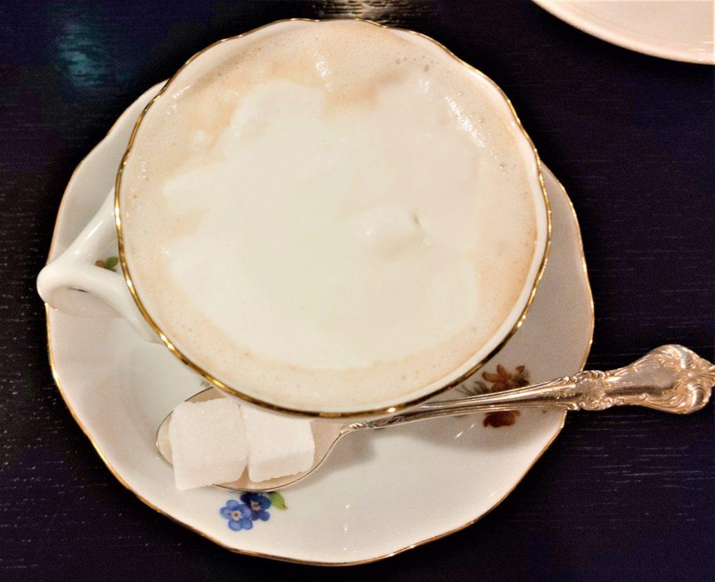 京都市にあるフランソア喫茶室の ウインナー・コーヒー