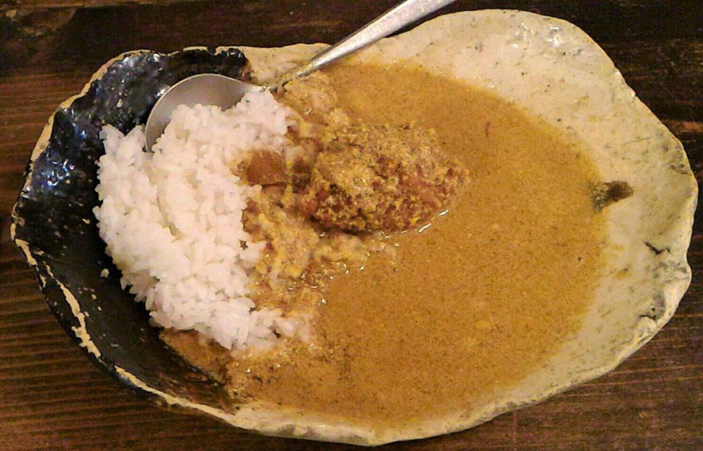 奈良市にある小麦粉のチャパティごはん