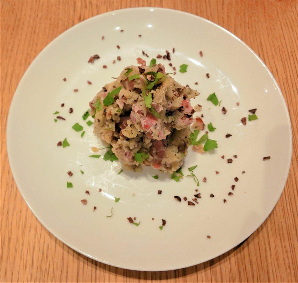 北海道産キタアカリのポテトサラダ トリュフとカカオ フジマル食堂 死ぬまで食べたい名料理