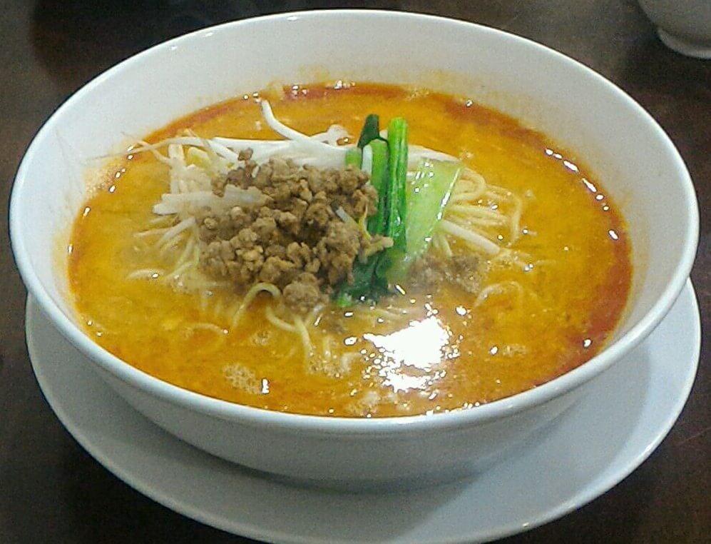 大阪狭山市にある翠陽の担々麺