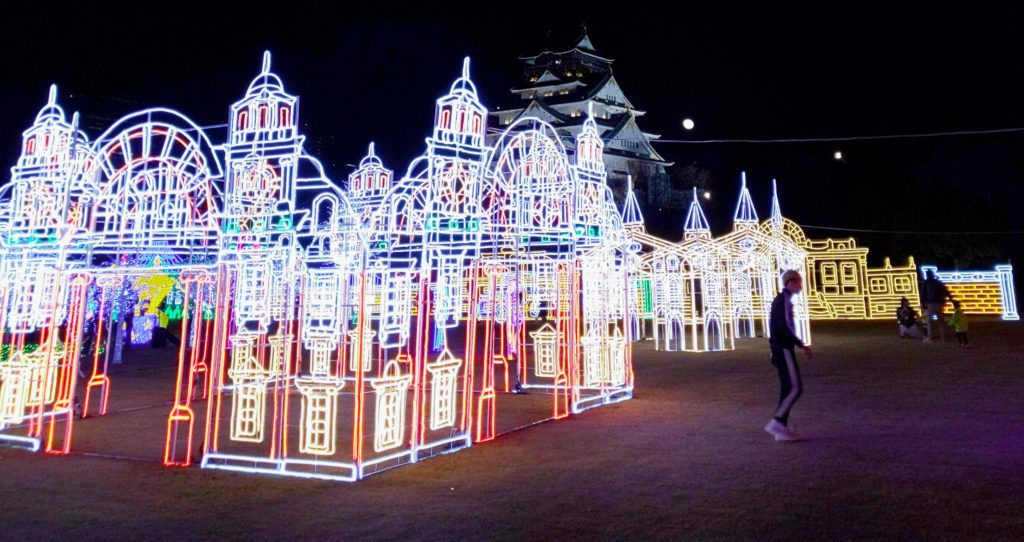 大阪城イルミナージュ