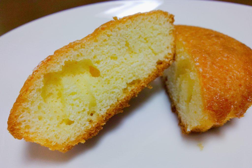 こがしバターケーキ断面