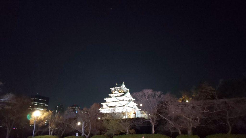 大阪城イルミナージュ/大阪城