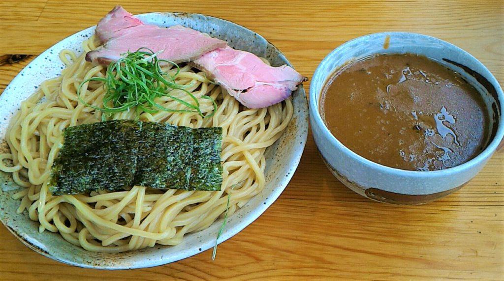 大阪狭山市にある竹麺亭の魚介濃厚つけ麺