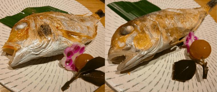 鮨割烹海宮の焼き魚