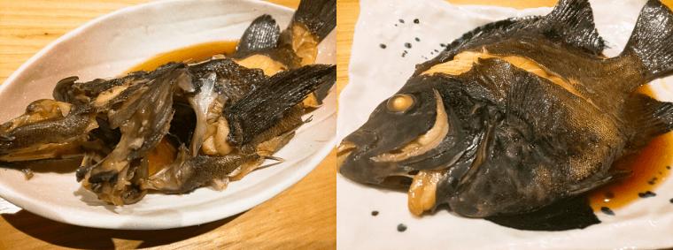 鮨割烹海宮の煮魚