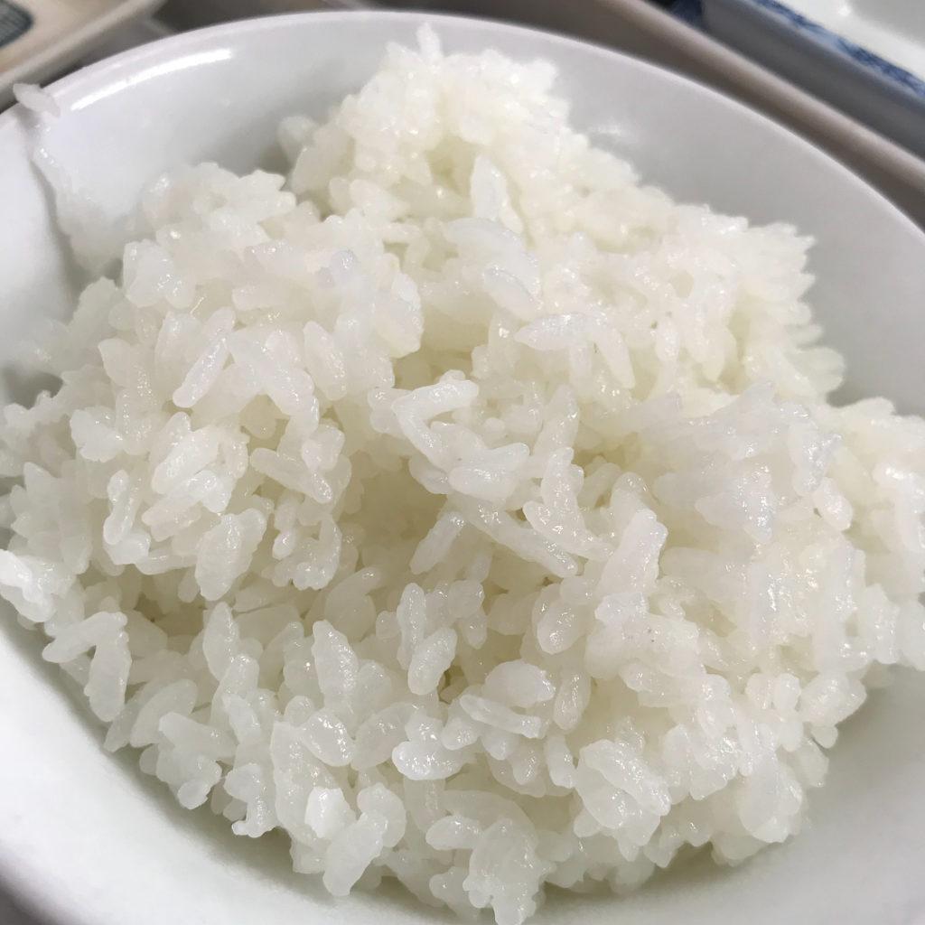 銀シャリ屋ゲコ亭の白御飯