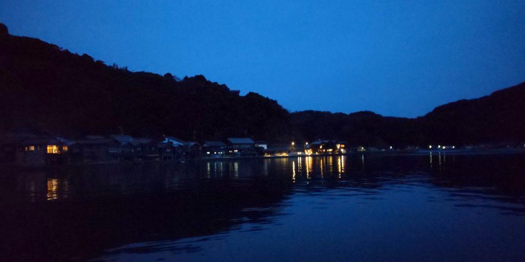 鮨割烹海宮の夜景