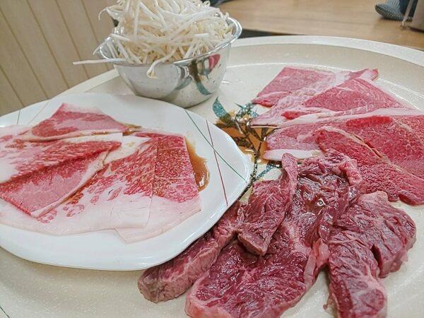 堺市にある味楽の焼肉