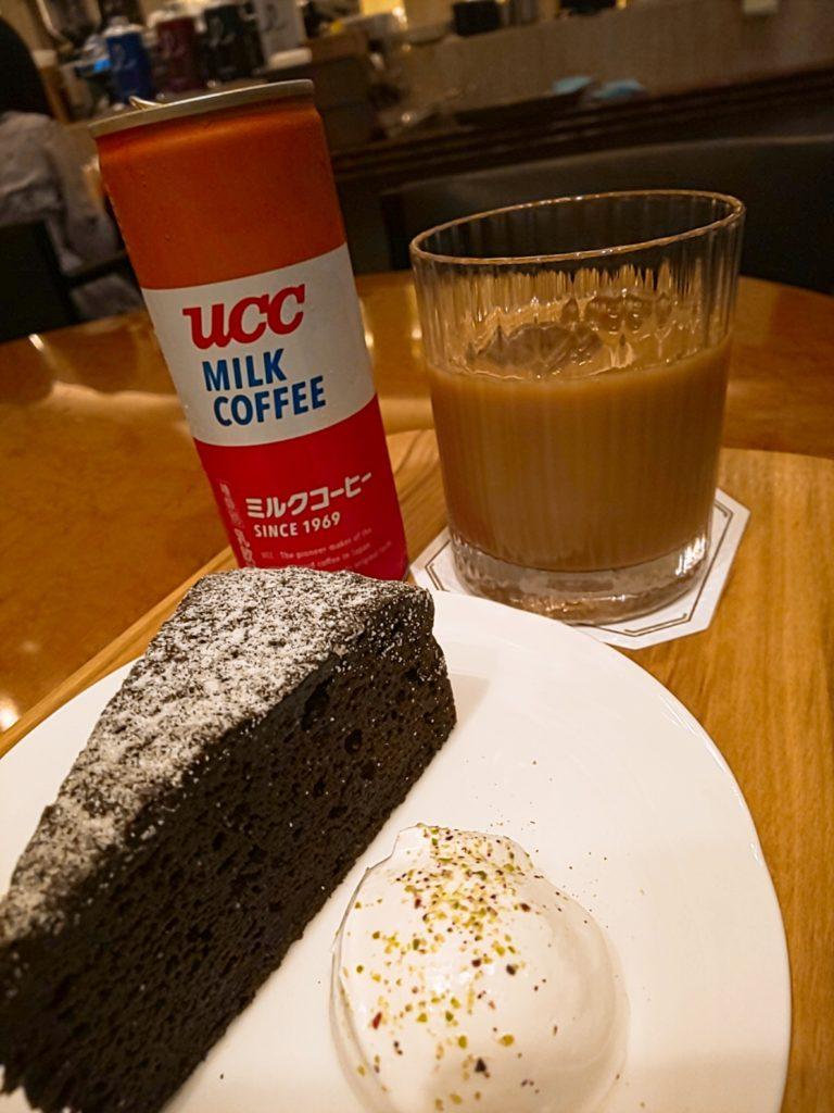 コーヒーロードのミルクコーヒーセット