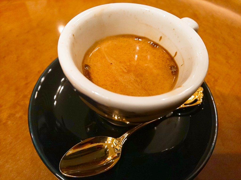 コーヒーロードのエスプレッソ