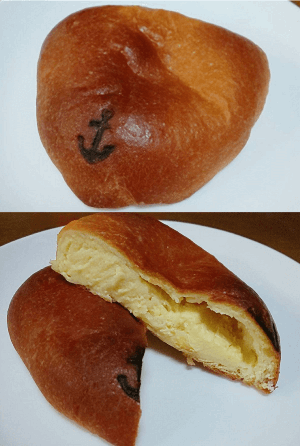 心斎橋にあるペサのクリームパン
