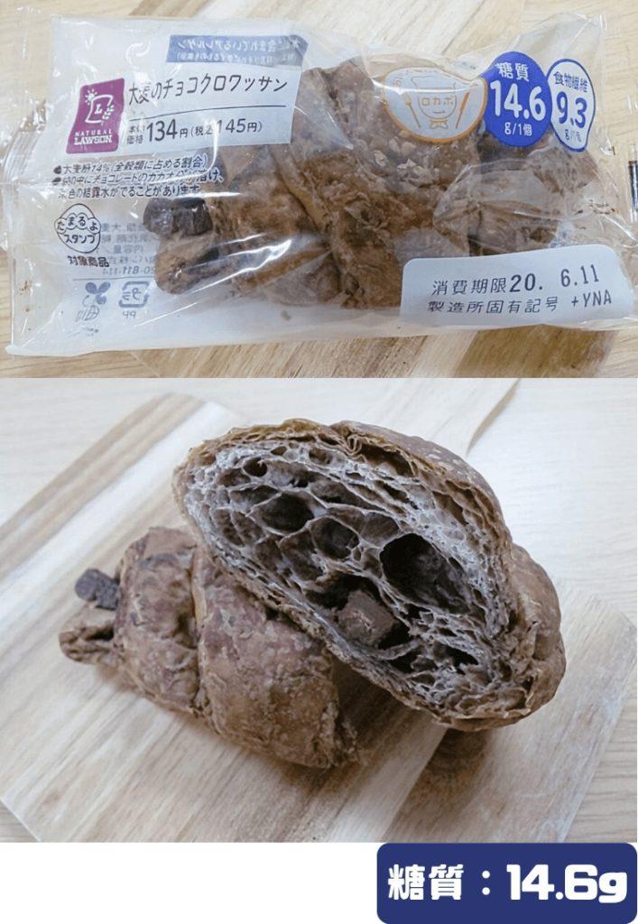ローソン/大麦のチョコクロワッサン