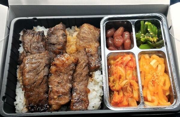 大阪市北区にある叙々苑キッチンの焼肉弁当