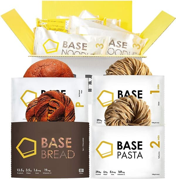 ベースフードのパスタ&パン14食セット