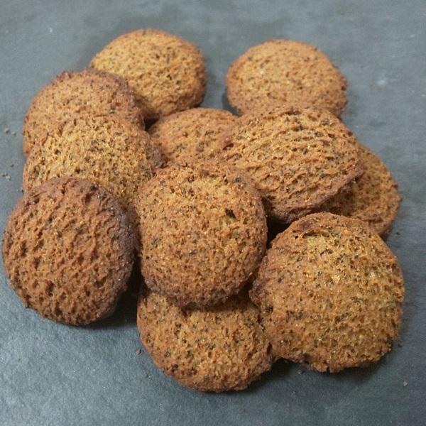 完全栄養食のベースクッキーのアールグレイ味