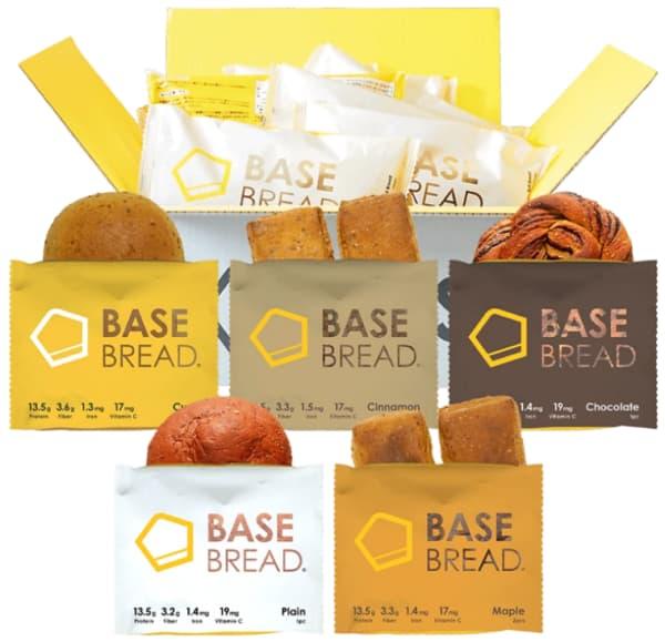 ベースフードのパン10食セット