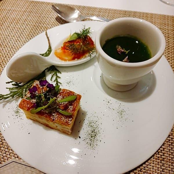 大阪府の結婚式場、迎賓館の前菜