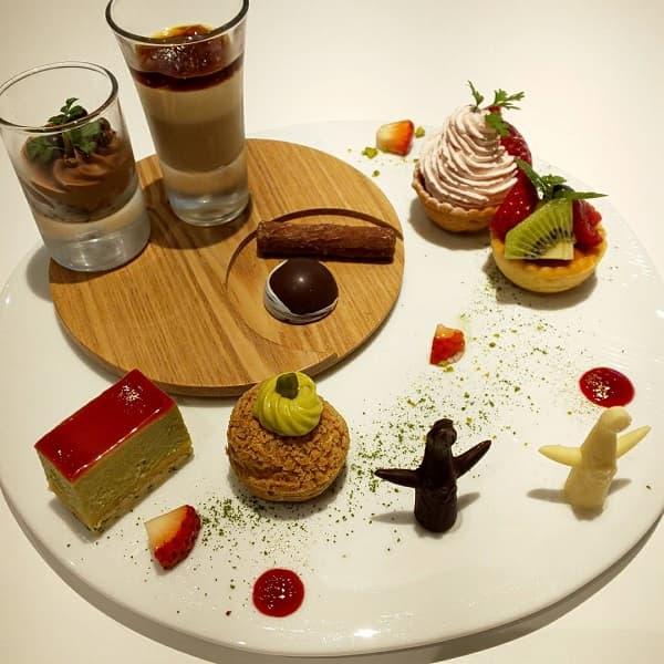 大阪府の結婚式場、迎賓館のデザート