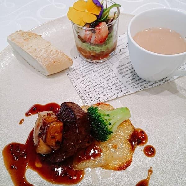 大阪府の結婚式場、ホテルロイヤルクラシック大阪のメインディッシュ