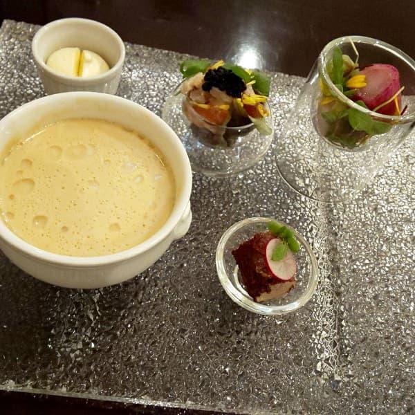 大阪府の結婚式場、モンサンミッシェル大聖堂の前菜